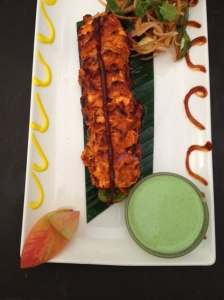 Paneer chingari kebab