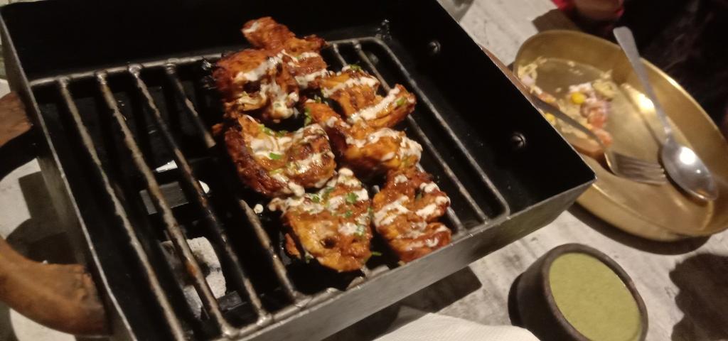 Smoky flavoured chicken tikka